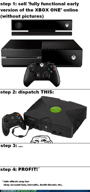 IT IS THE XBOX ONE