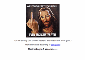 Westboro Baptist Church Creates Godhatesoklahoma.com, Hacker Hijacks Sites, Seizes Domain and Puts It to Good Use