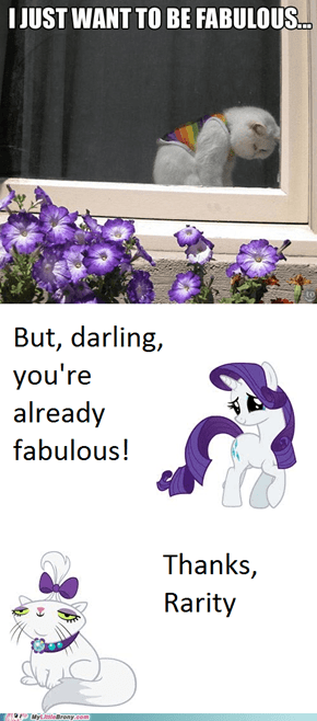 You're Fabulous to Me!