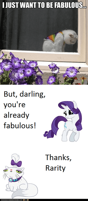 You're Fabulous to me! rewrite