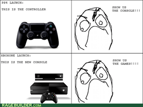 Console gamers are never happy