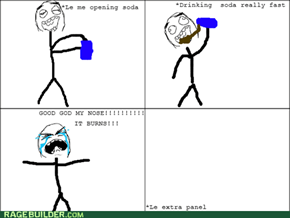 Soda burn