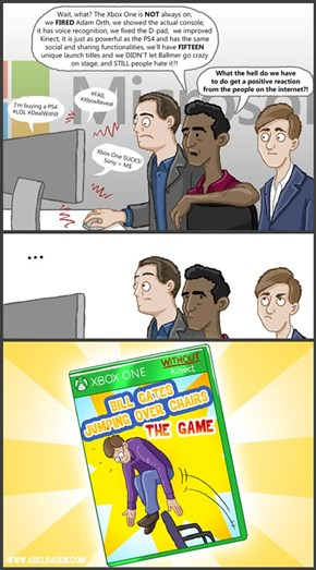 Meanwhile at Microsoft...