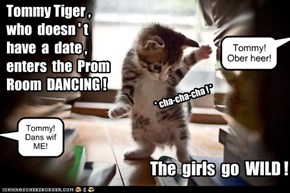 KKPS Prom: Tommy Tiger goes Stag!