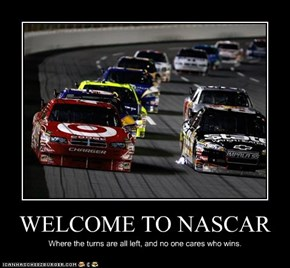 WELCOME TO NASCAR