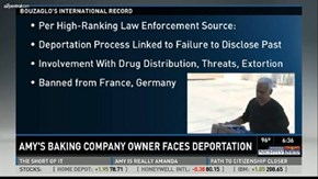 Didn't See That Coming: Amy's Baking Company Owner Might Get Deported