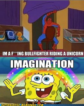 spidy's crazy imagination