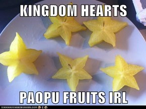 KINGDOM HEARTS  PAOPU FRUITS IRL