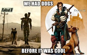 Hipster Video Games With Dogs