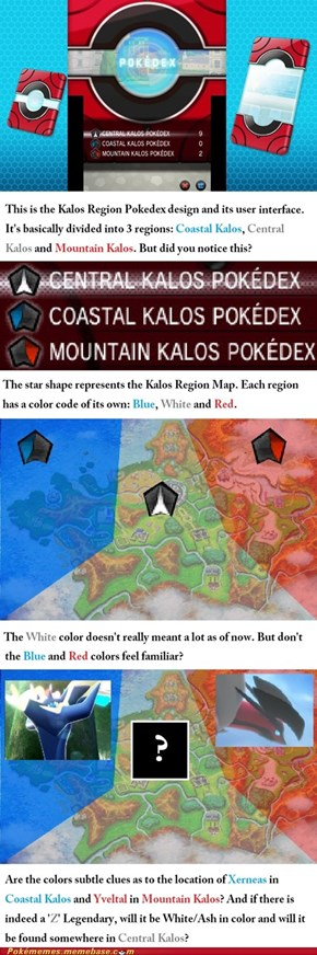 Location of Xerneas and Yveltal in Kalos (Speculation)