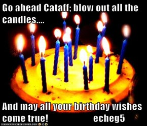 Go ahead Cataff; blow out all the candles....  And may all your birthday wishes come true!                       echeg5