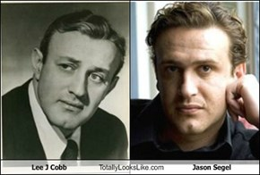 Lee J Cobb Totally Looks Like Jason Segel