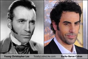 Young Christopher Lee Totally Looks Like Sacha Baron Cohen