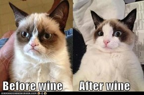 Before wine       After wine