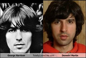 George Harrison Totally Looks Like Demetri Martin
