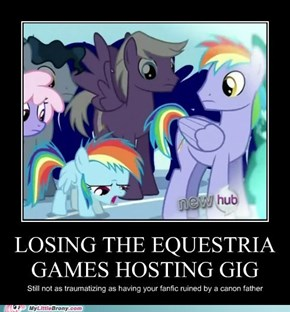 That Moment where Everypony Loses