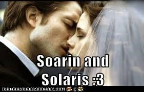 Soarin and Solaris :3