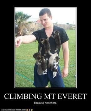 CLIMBING MT EVERET