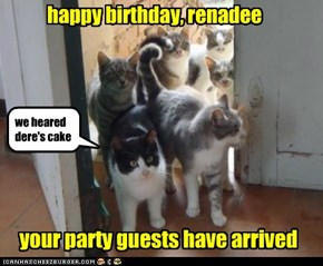 happy birthday, renadee