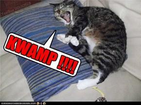 "Miep shows her ""flexibillytee""..."