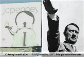 JC Penny's new kettle Totally Looks Like This guy with funny arm