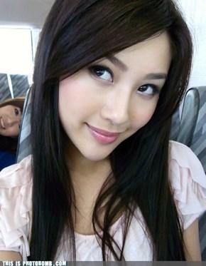 Cute girl bomb