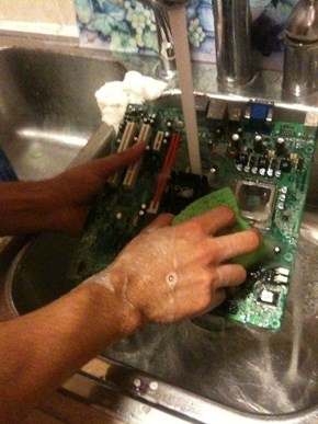 "You Said, ""Clean Out the Hard Drive"". . ."