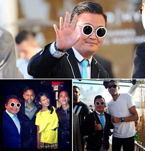 Prank Artist of the Day: Fake PSY Goes to Cannes