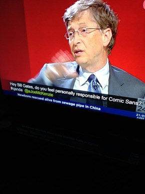 The Best Question to Ask Bill Gates Ever?