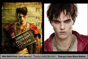 New Dante (DmC: Devil May Cry) Totally Looks Like That guy from Warm Bodies