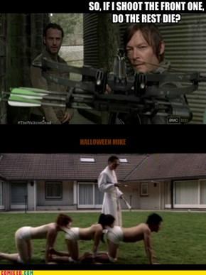 The Walking Dead - Human Centipede