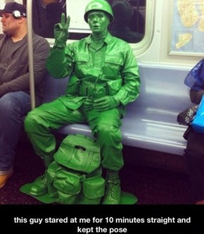 Oh, The People You Meet on the Subway
