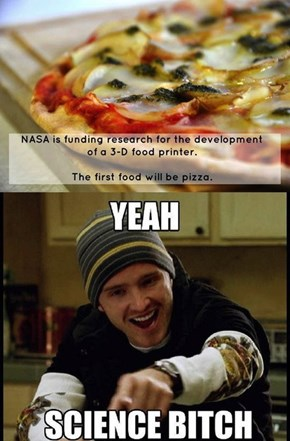 How Could Anyone Turn Down Pizza?