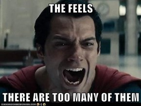 THE FEELS  THERE ARE TOO MANY OF THEM