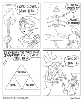 That's Not the Triforce Link Was Looking For