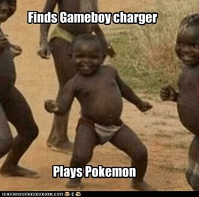 Finds Gameboy charger