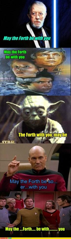 Happy Star Wars Day, pt 1