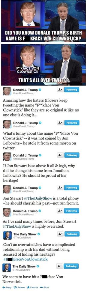 Trump's Twitter Tantrum