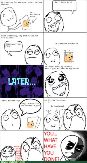 Lost it...