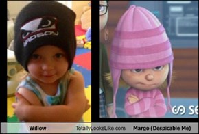 Willow Totally Looks Like Margo (Despicable Me)