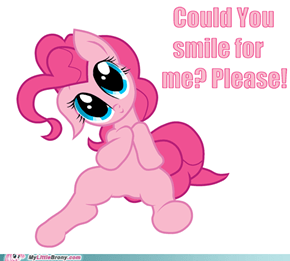Smile for Pinkie