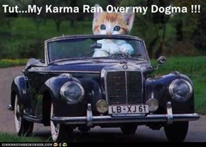 Tut...My Karma Ran Over my Dogma !!!