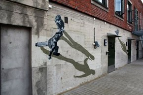 This Street Art is Off the Wall