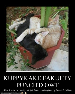 KUPPYKAKE FAKULTY PUNCH'D OWT