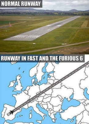 Hurry, We're Not Running Out of Runway!