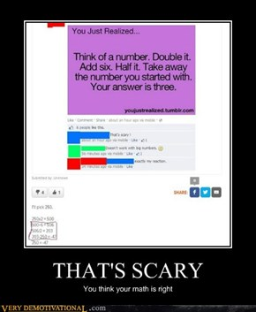 THAT'S SCARY
