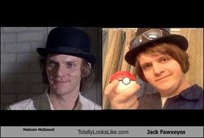 Malcom McDowel Totally Looks Like Jack Fawxeyes