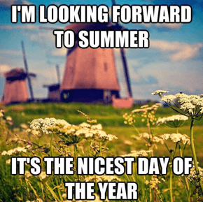 One Day to Love Being Outside
