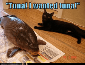 """Tuna! I wanted tuna!"""