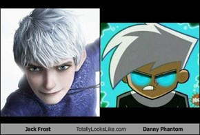 Jack Frost Totally Looks Like Danny Phantom